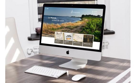 Un nouveau site internet pour le Muscat de Frontignan